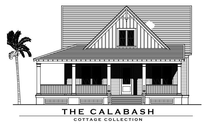 Cottage floor plans southport nc cl smith construction for Calabash cottage floor plan